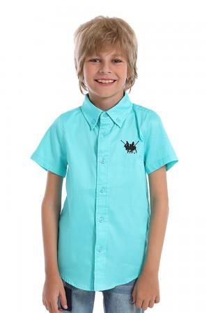 قميص اولاد لون ازرق سماوي