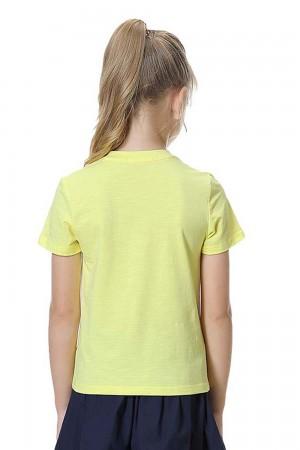 تيشيرت بناتي اصفر