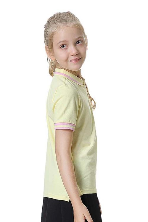 بولو شيرت بناتي لون اصفر