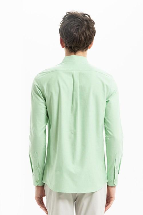 قميص رجالي اخضر