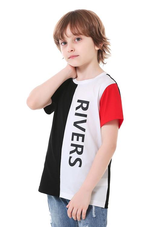 تيشيرت اولاد متعدد الالوان