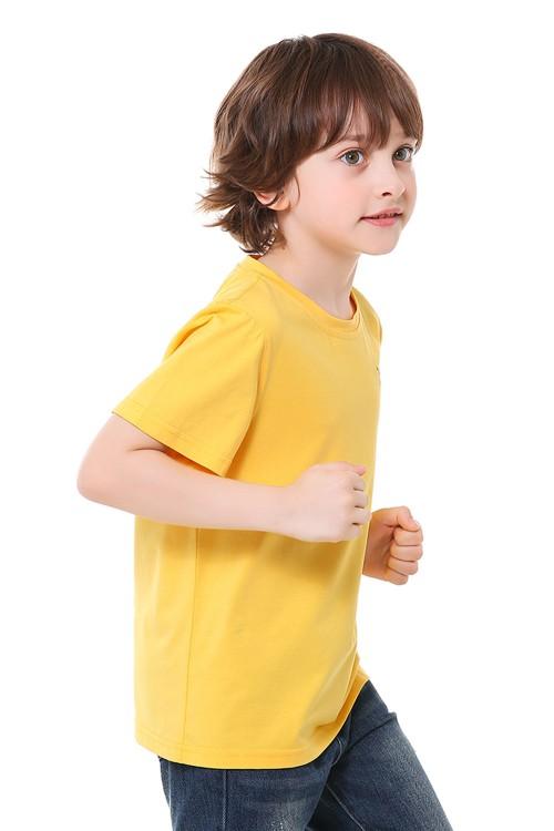 تيشيرت اولاد لون اصفر
