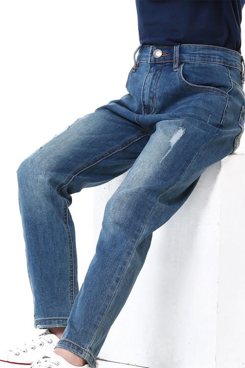 بنطلون جينز ازرق للاولاد