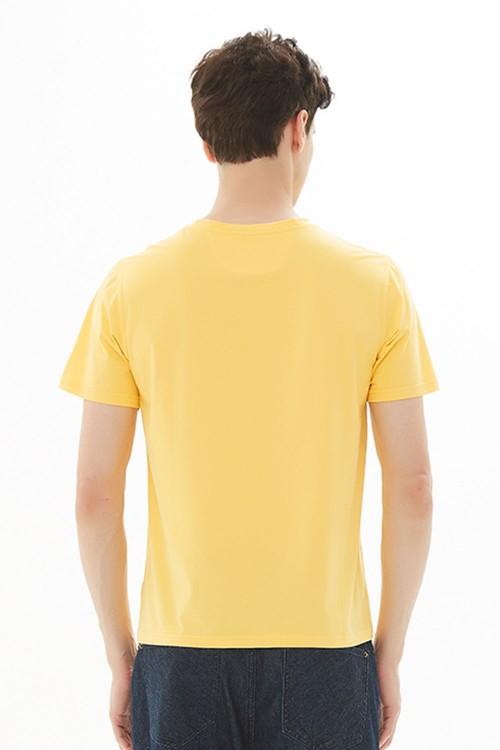 تيشيرت رجالي اصفر