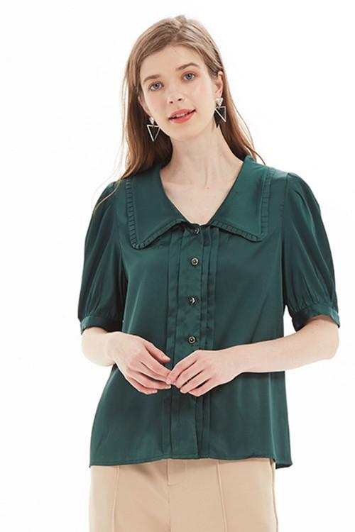 بلوزة نسائي لون اخضر