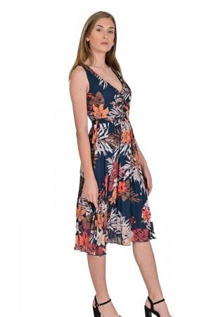 فستان نسائي بنمط ازهار