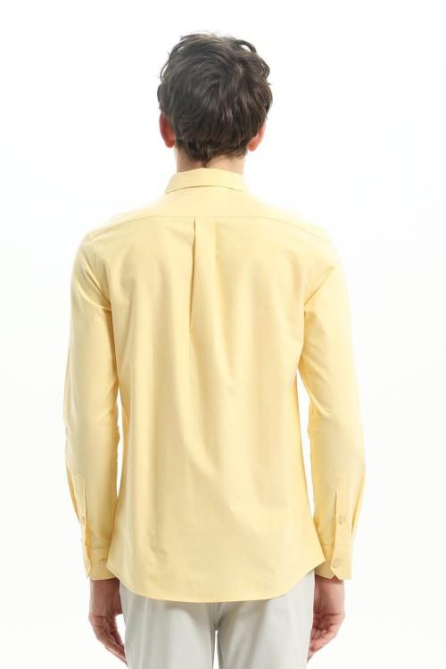 قميص رجالي اصفر