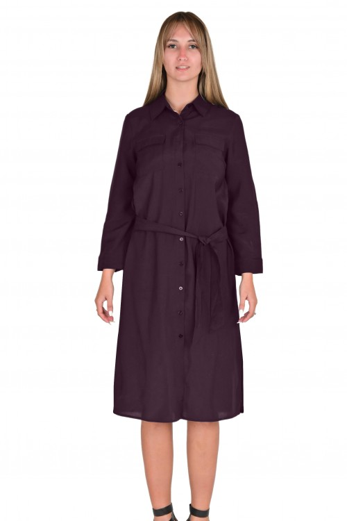 فستان نسائي خمري