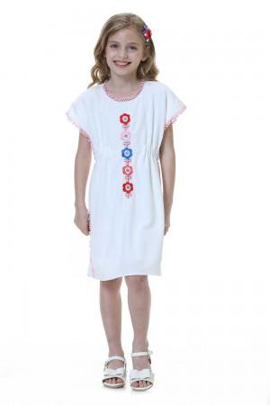 فستان ابيض بناتي