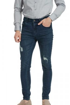 بنطلون جينز ازرق رجالي