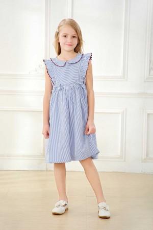 فستاني بناتي لون ازرق