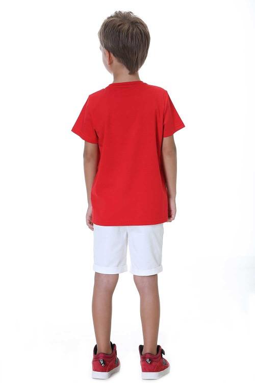 تيشيرت اولاد احمر