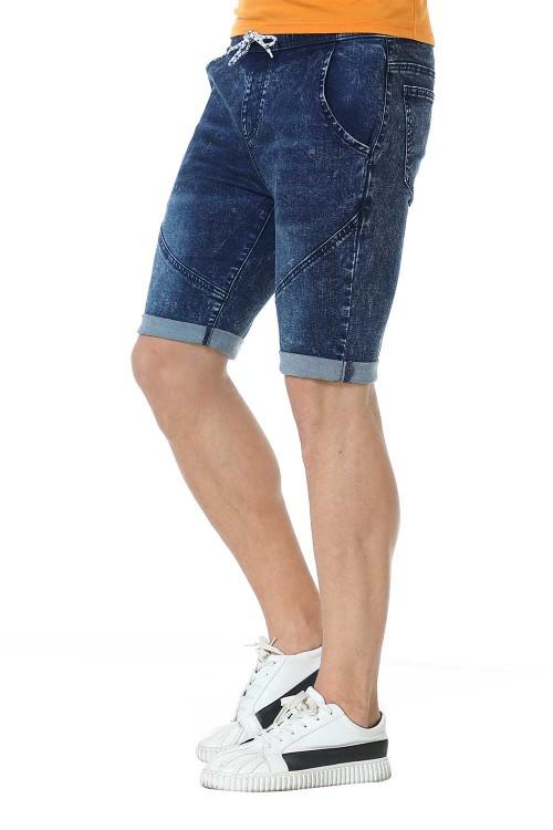 شورت جينز رجالي ازرق