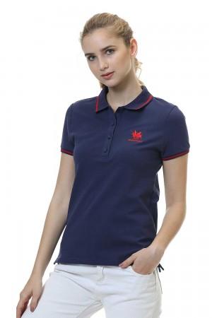 Women Polo Shirt, Navy