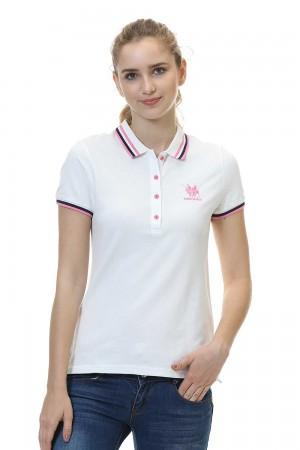 Women Polo Shirt, White