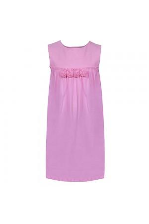 فستان بناتي ماكسي، وردي، من ريفرز وورلد