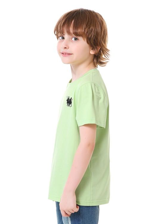 تيشيرت اولاد لون اخضر